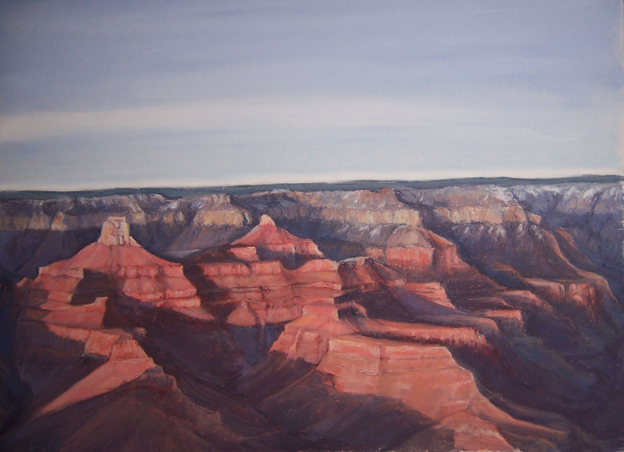 buddha-temple-from-yavapai-point-12-x-16-sold-giclee-reproductions-available