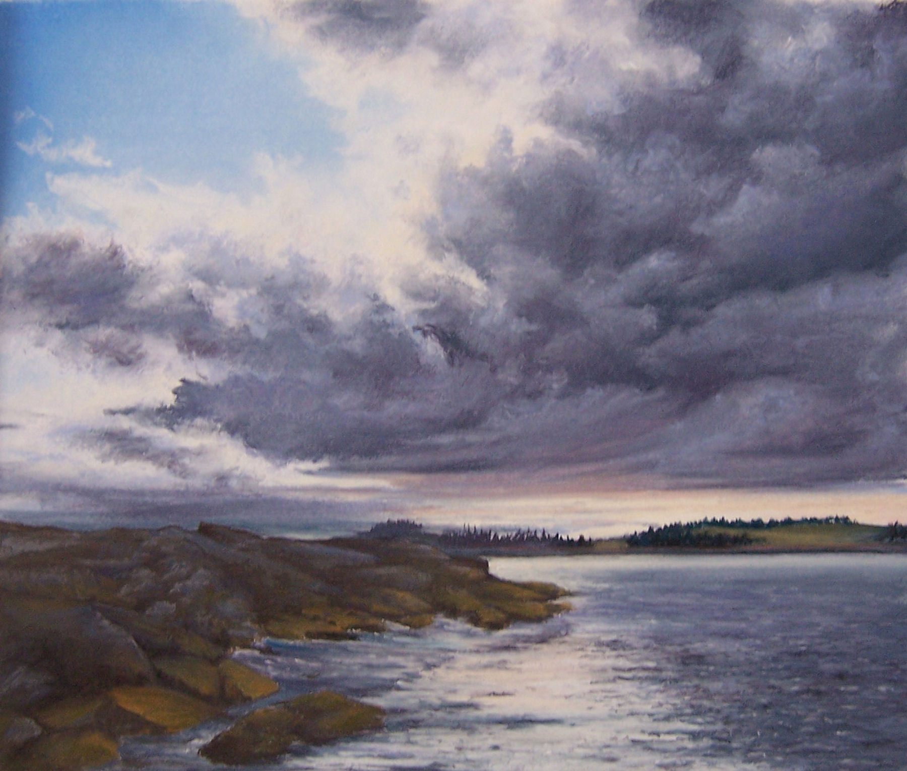 storm-clouds-over-davis-island-13-x-16-sold-giclee-reproductions-available